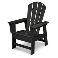 POLYWOOD® Kid's Casual Chair in Black