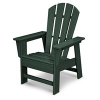 POLYWOOD® Kid's Casual Chair in Green