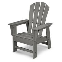 POLYWOOD® Kid's Casual Chair in Slate Grey