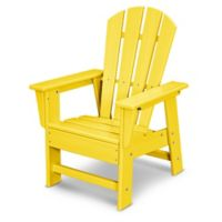 POLYWOOD® Kid's Casual Chair in Lemon