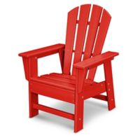 POLYWOOD® Kid's Casual Chair in Sunset Red