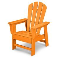 POLYWOOD® Kid's Casual Chair in Tangerine