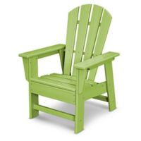 POLYWOOD® Kid's Casual Chair in Lime