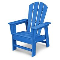 POLYWOOD® Kid's Casual Chair in Pacific Blue