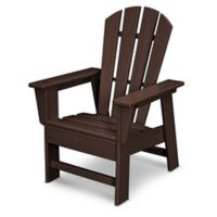 POLYWOOD® Kid's Casual Chair in Mahogany