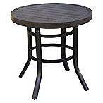 Destination Summer 28-Inch Bistro Table in Brown