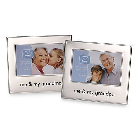 Me and My Grandma/Grandpa Frames - Bed Bath & Beyond