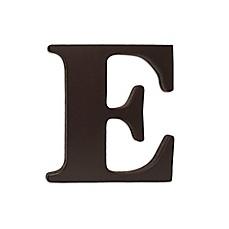 kidsline espresso wooden letter