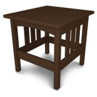 POLYWOOD® Mission End Table in Mahogany