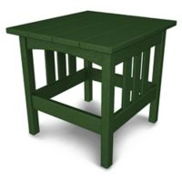 POLYWOOD® Mission End Table in Green