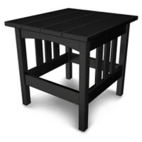 POLYWOOD® Mission End Table in Black