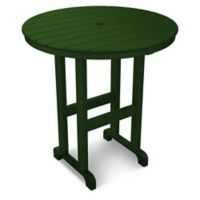 POLYWOOD® La Casa 36-Inch Round Counter Table in Green