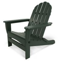POLYWOOD® Classic Oversized Curveback Adirondack Chair in Green