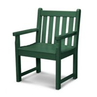 POLYWOOD® Traditional Garden Arm Chair in Green