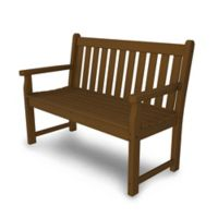 POLYWOOD® Traditional Garden 48-Inch Bench in Teak