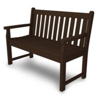 POLYWOOD® Traditional Garden 48-Inch Bench in Mahogany