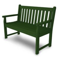 POLYWOOD® Traditional Garden 48-Inch Bench in Green