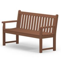 POLYWOOD® Traditional Garden 60-Inch Bench in Teak