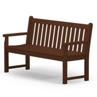 POLYWOOD® Traditional Garden 60-Inch Bench in Mahogany