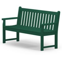 POLYWOOD® Traditional Garden 60-Inch Bench in Green