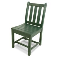 POLYWOOD® Traditional Garden Dining Side Chair in Green