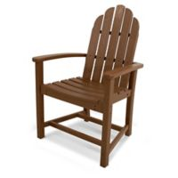POLYWOOD® Classic Adirondack Dining Chair in Teak