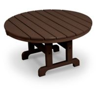POLYWOOD® La Casa 36-Inch Round Conversation Table in Mahogany