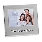 Three Generations 4-Inch x 6-Inch Metal Frame