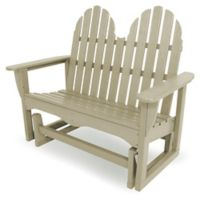 POLYWOOD® Classic Adirondack Glider in Sand