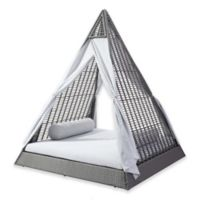 Zuo® Modern Albany Outdoor Daybed in Grey/Light Grey