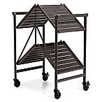 Cosco® Outdoor Folding Serving Cart in Grey