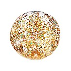 Pool Candy Glitter Beach Ball in Gold