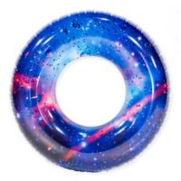 Pool Candy Galaxy Glitter Beach and Pool Tube in Blue