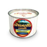 Patio Companion® Distressed Galvanized Candle