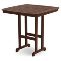 POLYWOOD® Nautical 44-Inch Bar Table in Mahogany