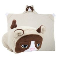 Comfy Critters™ Grumpy Cat Wearable Stuffed Animal in Brown