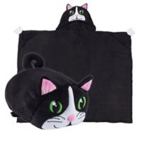 Comfy Critters™ Cat Wearable Stuffed Animal in Black