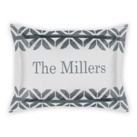 Designs Direct Distressed Diamonds Standard Pillow Sham in Grey