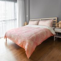 Designs Direct Millennial Blooms Twin Duvet Cover in Pink