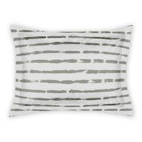 Designs Direct Brush Strokes Standard Pillow Sham in Taupe