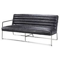 Moe's Home Collection Desmond Loveseat in Black