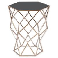 Pulaski Aquarius Accent Table in Black