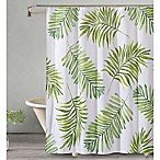 Breezy Palm Shower Curtain in Green
