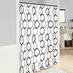 Vue® Hexagonal Shower Curtain in Grey