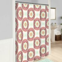 Vue® Belle Shower Curtain in Red