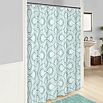 Vue® Frenchy Shower Curtain in Sage