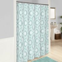 VueR Frenchy Shower Curtain In Sage