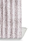 Truly Soft Watercolor Paisley Shower Curtain in Pink