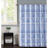 Vince Camuto Nantucket Shower Curtain in Blue