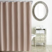 Waterford® Tory Shower Curtain in Rose Gold